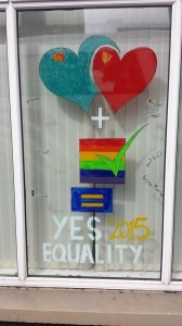 Pictures from the Yes Campaign