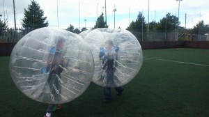 Bubble Football with Westside Youth Project