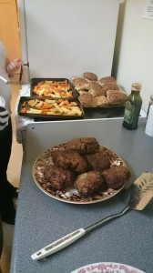 Multicultural cooking in Westside Youth Project