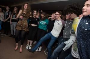 Dancing at the Aviva
