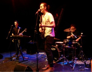 Crude performing at the Irish Youth Music Awards Regional Event