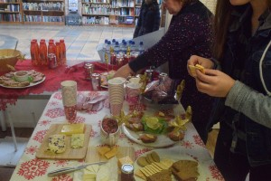 Some food from the county Comhairle event.