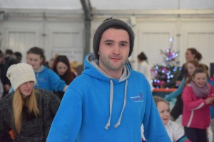Levan, the EVS volunteer in Tuam Youth Services joined the Comhairle for their county event.