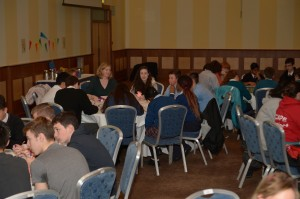 World Café Discussions at Galway City Comhairle na nÓg AGM 2014