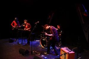 JANAJ performing at the Irish Youth Music Awards Regional Event