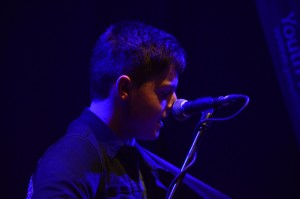 Iarla of The Dissidents performing at the Irish Youth Music Awards Regional Event