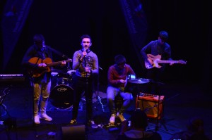The Dissidents performing at the Irish Youth Music Awards Regional Event