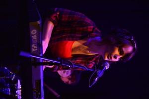 Alice of JANAJ performing at the Irish Youth Music Awards Regional Event